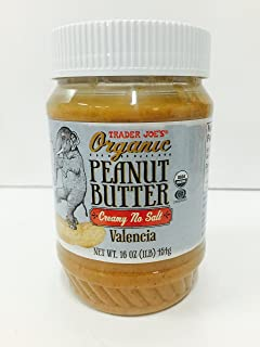 Trader Joe's Organic Peanut Butter Creamy No Salt