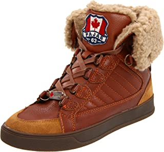 Pajar Canada Laurent Mens Winter Ankle Boots Fur Lined