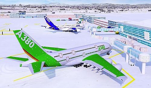 『Snow Cargo Jet Landing 3D』の2枚目の画像