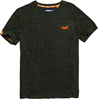 Men's Orange Label Vintage Embroidery Short Sleeve T-Shirt