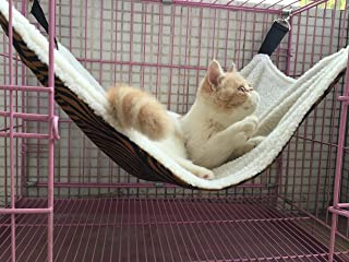 UsefulThingy Cat Hammock/Ferret, Rat, Rabbit, Small Dogs or Other Pet - Easy to Attach to a Cage - 3 Designs