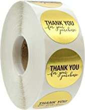 Best thank you for your purchase stickers Reviews