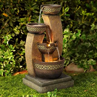 home depot outdoor fountains