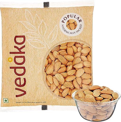 Vedaka Popular Whole Almonds, 500g 1