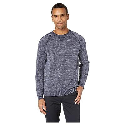 Tommy Bahama Di Sabbia Flip Crew Sweater (Ocean Deep) Men