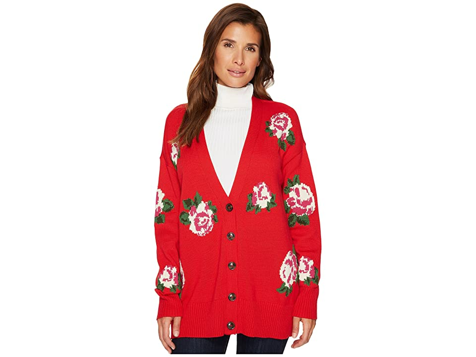 Sanctuary Rosetta Cardi Sweater (Paris Rose) Women