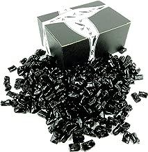 Finnska Sugar Free Black Licorice Bites, 2 lb Bag in a BlackTie Box