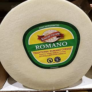 Supreme Italiano Romano Traditional Cheese ~18lb Whole Wheel