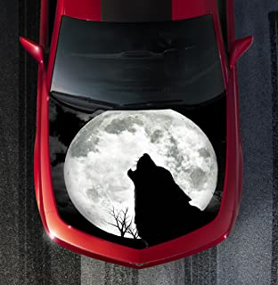 Avery H96 WOLF - HOOD WRAP - Wraps Decal Sticker Tint Vinyl Image Graphic Carbon Print Laminated Printed Fiber
