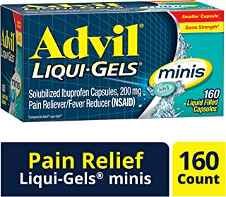 Advil Pain Reliever/Fever Reducer Liquid Filled Capsule