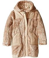 Chloe Kids - Hooded Faux Fur Coat (Little Kids/Big Kids)