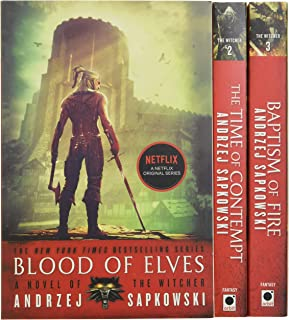 comprar comparacion The Witcher Boxed Set: Blood of Elves, the Time of Contempt, Baptism of Fire