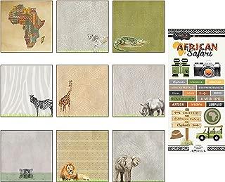 Best safari scrapbook paper Reviews
