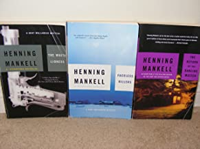 3 books in the Kurt Wallander Series**Faceless Killers, The White Lioness, The Return of the Dancing Master (Kurt Wallander)