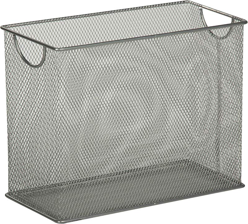 Honey Can Do OFC 03303 Table Top Hanging File Organizer 5 5 X 12 5 X 9 8 Silver