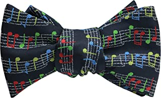 Bow Ties for Men Funny Pattern Self Tie Bow Tie for Boys Adjustable Bowtie - Wedding or Party