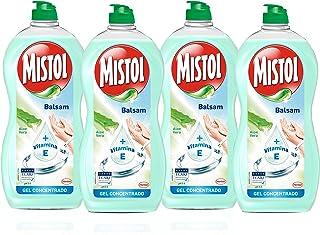 [Pack de 4] MISTOL Lavavajillas Mano concentrado Aloe Vera   Botella 950 ml