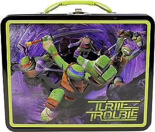 Teenage Mutant Ninja Turtles TMNT Embossed Metal Lunch Box, Designs may Vary