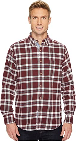 Nautica - Long Sleeve Flannel Plaid Shirt