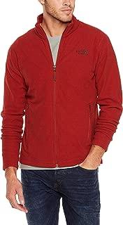 The North Face Men's M Texture Cap Rock FZ Cardinal Red Texture