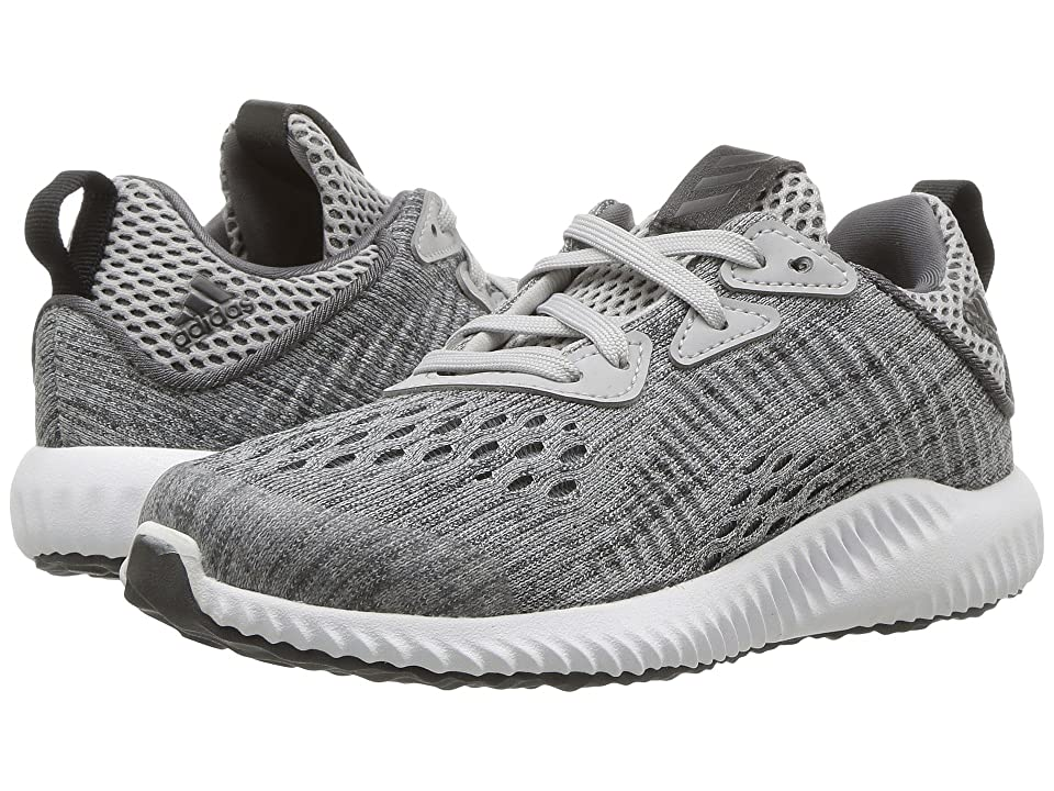 adidas Kids Alphabounce EM C (Little Kid) (Grey Five/Grey Two/Footwear White) Boys Shoes
