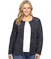 Lucky Brand - Plus Size Jacquard Sweater