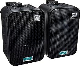 Dual Waterproof Outdoor Speaker System – 6.5 Inch Pair of Weatherproof Wall /..