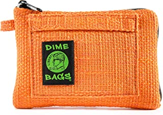 Padded Pouch - Soft Interior with Secure Heavy-Duty Zipper (Orange, 8-Inch)