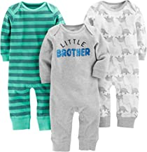 Simple Joys by Carter's Baby Boys' 3-Pack Jumpsuits