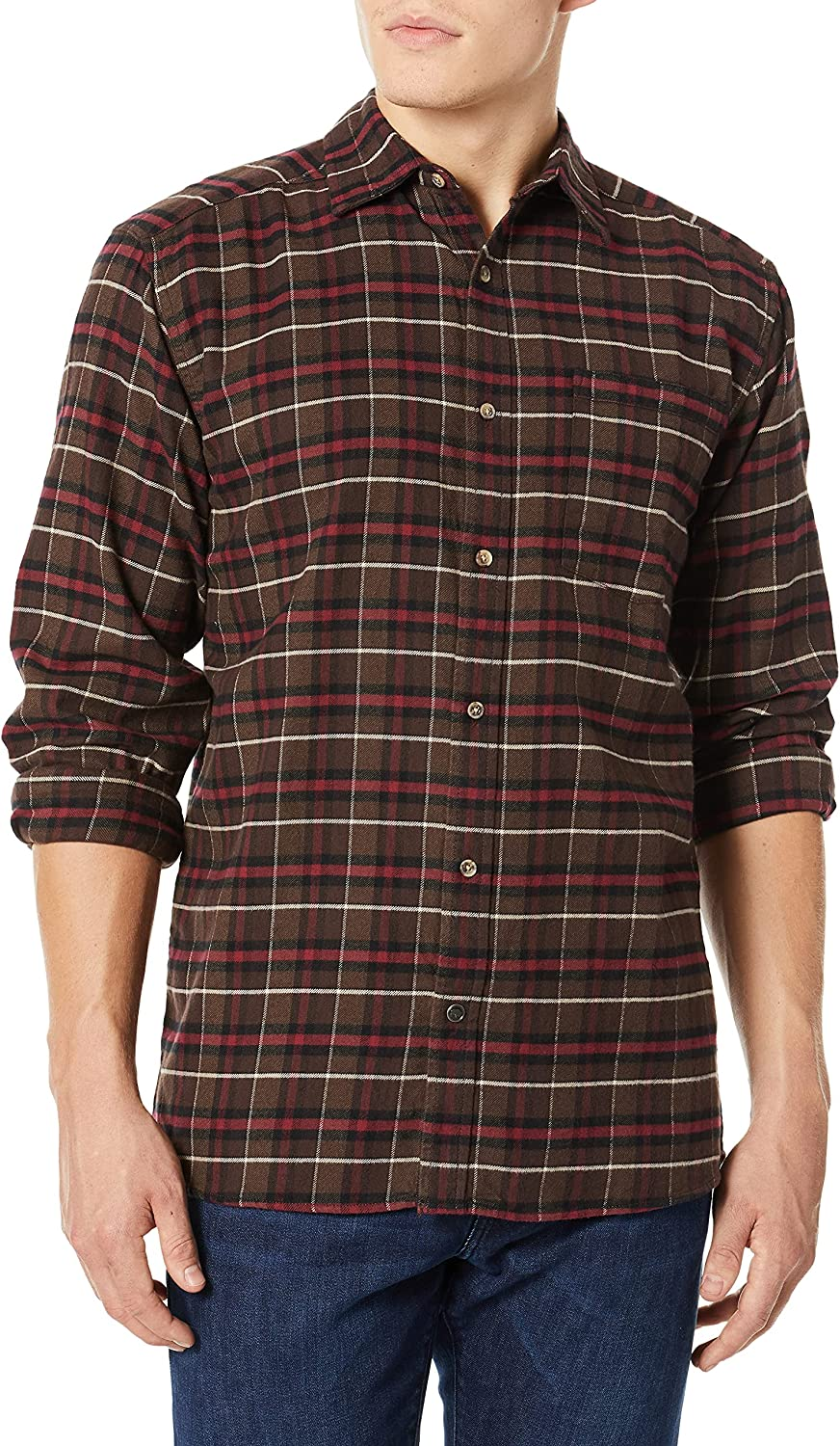 Mountain Max 77% OFF Khakis Men's Shirt Easy-to-use Flannel Peden