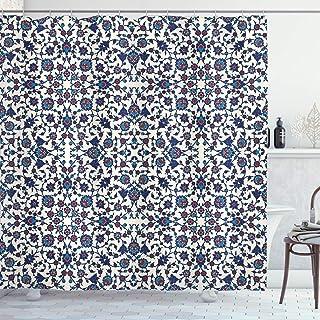 Arabeske DuschVorhang Marokkanischer Orient Gardinen Badezimmer Dekor