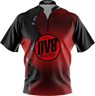 Logo Infusion Bowling Dye-Sublimated Jersey (Sash Collar) - DV8 Style 0319 - Sizes S-3XL