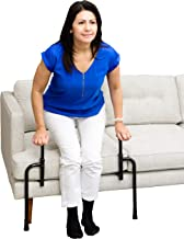 Stander EZ Stand-N-Go - Ergonomic Stand Assist Handles + Adjustable Standing Mobility Aid for Couch Chair & Sofa & Living Room Grab Bar