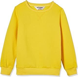 Kids' Slouchy Soft Brushed Fleece Casual Basic Crewneck Sweatshirt for Boys or Girls(4-12 Years