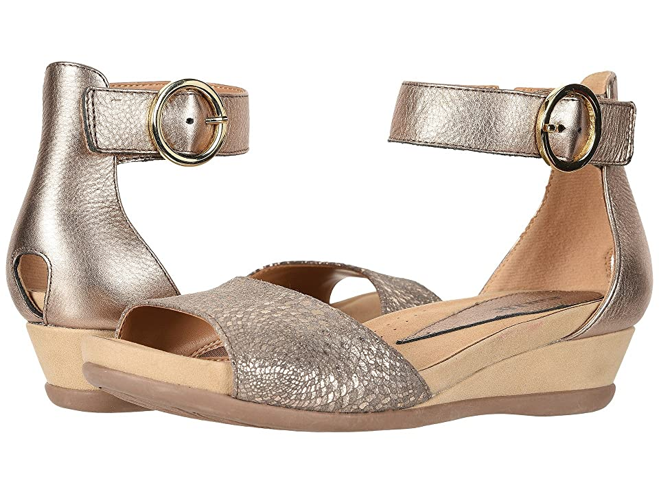 Earth Hera (Champagne Mosaic Printed Suede) Women