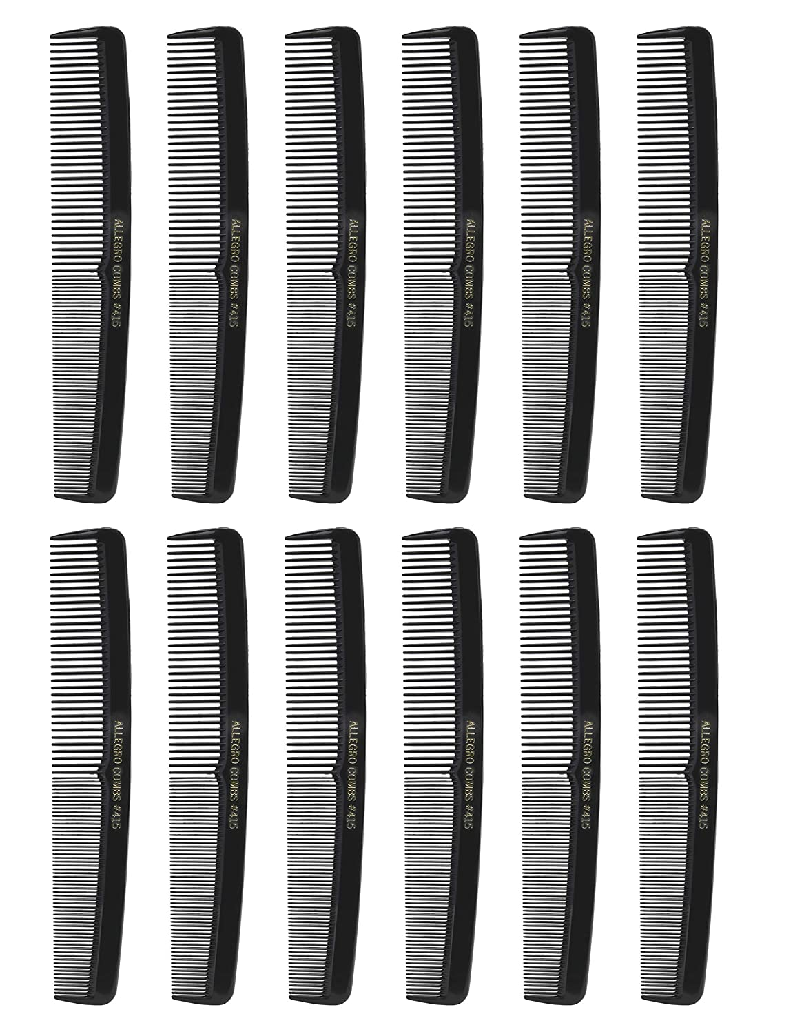 Allegro Combs Super sale period limited 415 All Purpose Max 60% OFF combs Styling Blac Hair