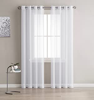 wine sheer curtains