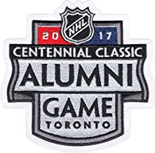 2017 NHL Centennial Classic Jersey Patch Toronto Maple Leafs Detroit Red Wings