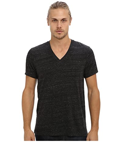 Alternative Boss V-Neck Tee (Eco Black) Men