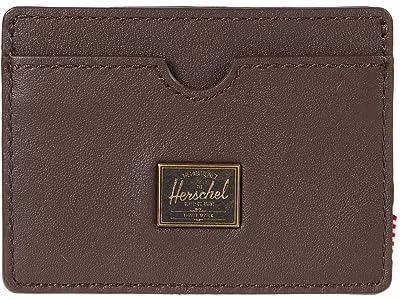 Herschel Supply Co. Charlie Leather RFID (Brown) Wallet