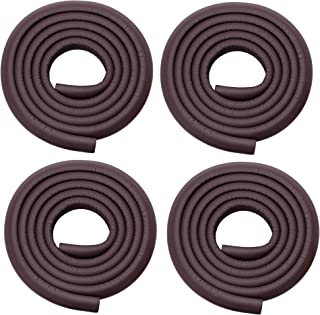 Store2508 Child Safety Strip Cushion with Strong Fibreglass Tape for Baby Safety Child Proofing (4 Rolls) (Brown)