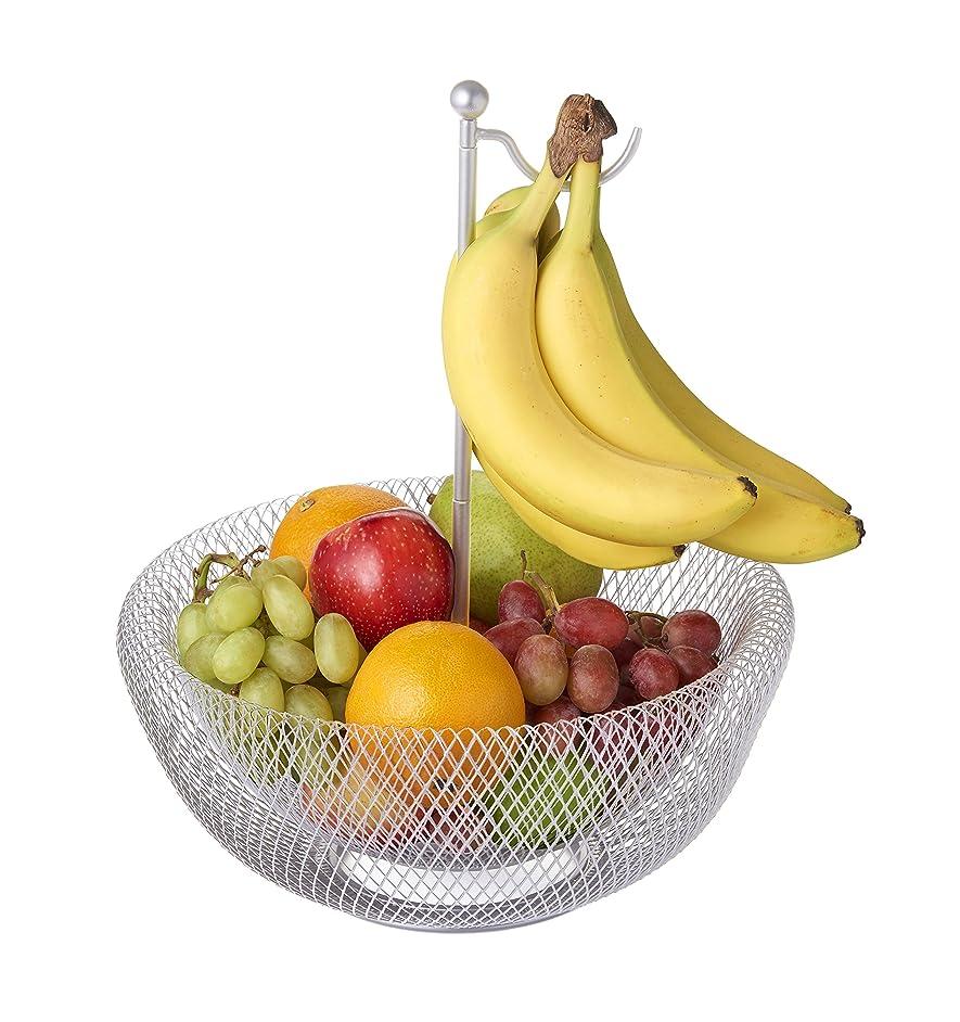 NIFTY 7620FB-CHM Fruit Bowl With Banana Hook, 1 Size, Chrome