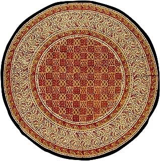 Full Moon Loom Kalamkari Block Print Round Cotton Tablecloth 72