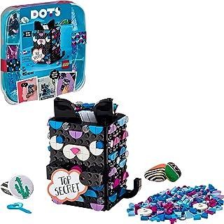 LEGO 41924 DOTS Secret Holder Cat Box, Room Accessories & Desk Décor Ideas, DIY Arts and Crafts for Kids