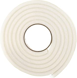 Frost King R738WH Rubber Foam Self-Stick Weatherseal Tape with Minimum Compression, White