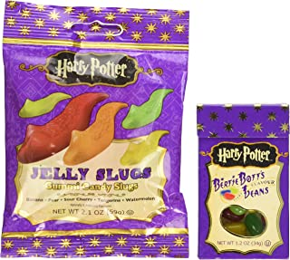 Jelly Belly Harry Potter Bertie Bott's & Jelly Slugs Candy Pack