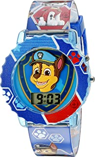 Paw Patrol Kids' Digital Watch with Blue Case,...