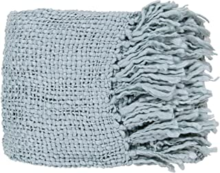 Surya Tobias TOB-1006 Knit Hand Woven 70% Acrylic / 30% Wool Spa Blue 51