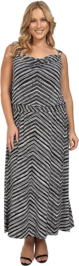 Plus Size Maxi Dress w/ Hardware