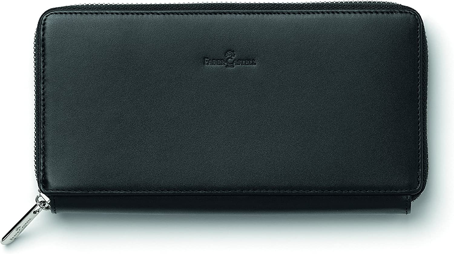 FaberCastell 188856  Women's wallet Classic from Italian patent leather black, matte